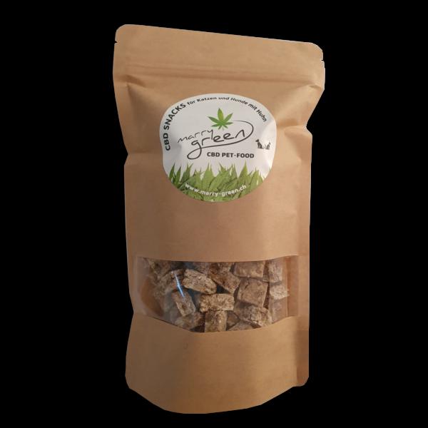 CBD PET-FOOD - Snacks mit Huhn und 5% CBD