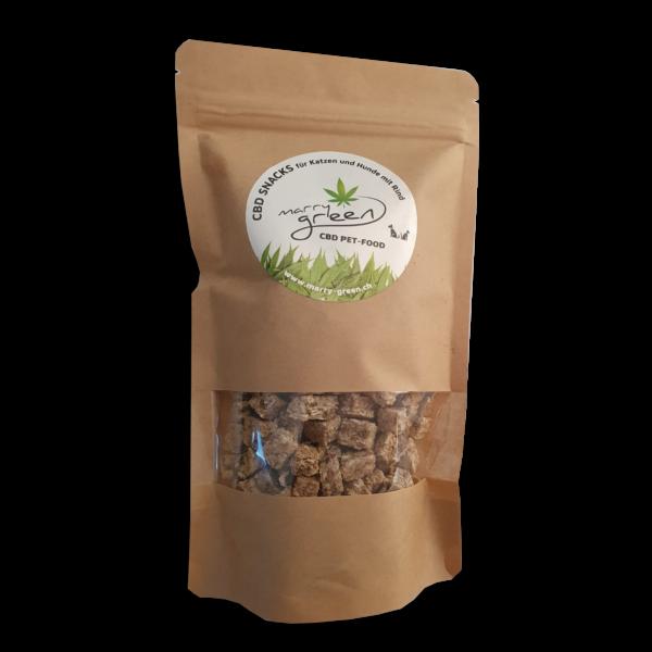 CBD PET-FOOD - Snacks mit Rind und 5% CBD