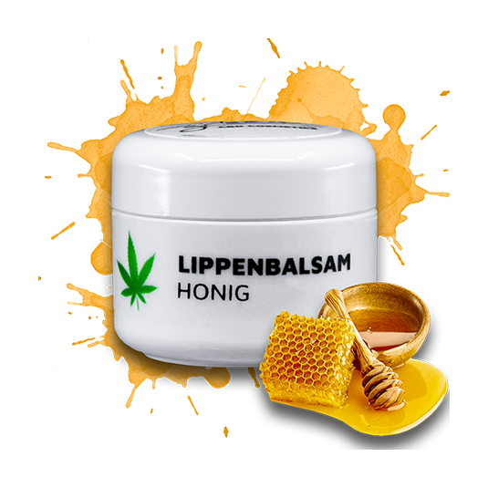 CBD Lippenbalsam mit Honig