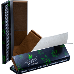 Marry Green's Kingsize Slim Papers + Tips